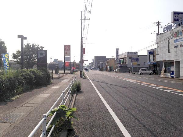府中駅方面からのルート